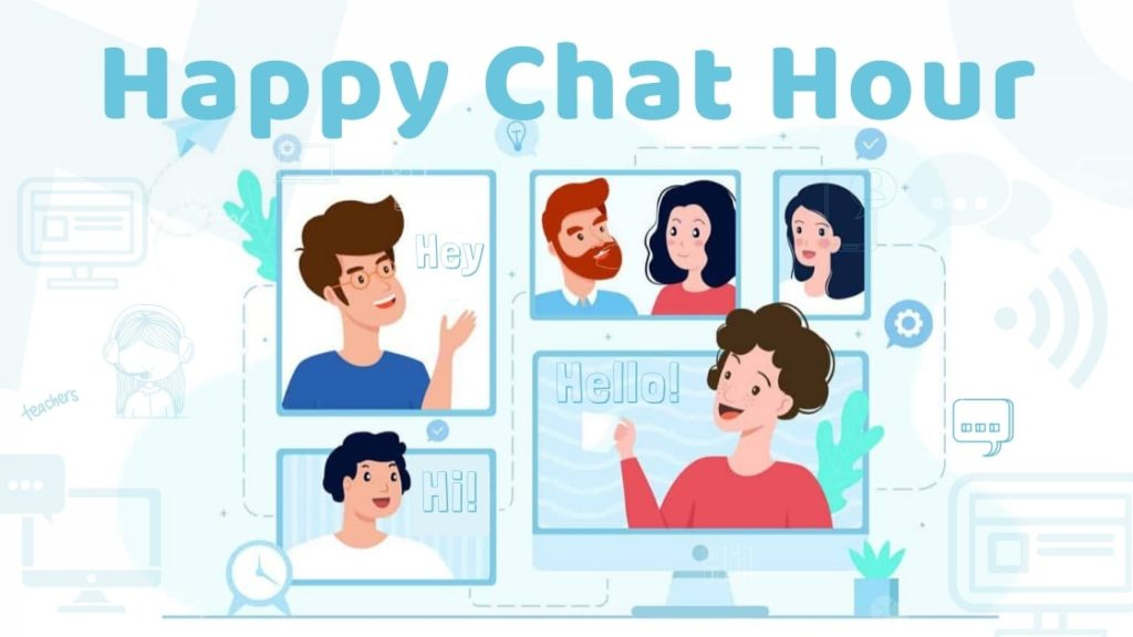 eurolingue school happy chat hour