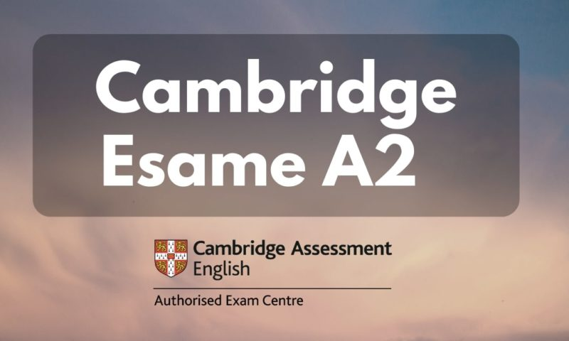 Inglese livello A2